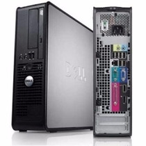 Cpu Dell Optiplex 760 Core 2 Duo 4gb Ddr2 160gb Hd Dvd