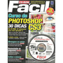 Revista + Cd Rom - Curso De Photoshop Cs3 - 32 Videoaulas