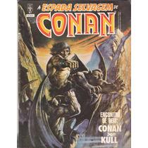 A Espada Selvagem De Conan Numero 47 Editora Abril 1ª Edição