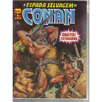 A Espada Selvagem De Conan Numero 16 - Editora Abril