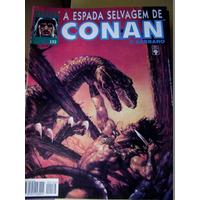 Gibi Conan A Espada Selvagem Nº 132 Formato Magazine 1995