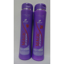 Kit Manutenção Pós Progressiva Magic Adlux - Shampoo E Cond,