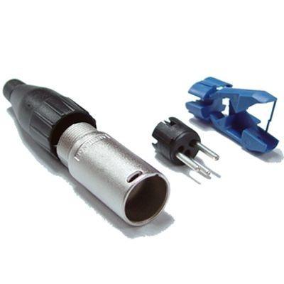 Conector Xlr Canon Macho Amphenol 3 Vias Ac3mm P. Entrega