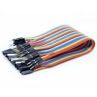 Fios/jumpers Macho E Femea P/ Projetos Eletrônicos - Arduino