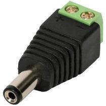 Conector P4 Macho (borne) Cftv - Frete Barato