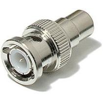Kit 10 Conector Adaptador Bnc Macho Para Rca Femea - Cftv