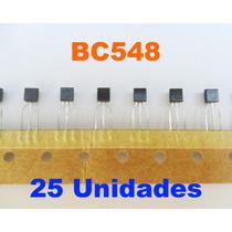 Transistor Bc548 - 25 Unidades