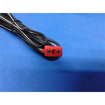 Cabo Plug Vermelho Caixa De Som Mini System Philco Ph650