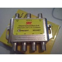 Chave Camutadora 3x4 Nanosat Sky Original