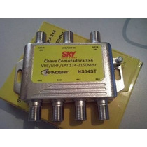 Chave Comutadora Amplificada (substitui O Lnb Triax Sdu)