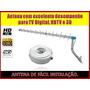 Antena Espinha De Peixe Para Sinal Digital Hdtv 14 Canais Hd