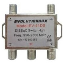 Chave Diseq 4x1 Evolution
