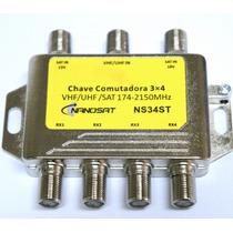 Chave Comutadora 3x4 Amplificada