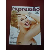 Revista Expressão Abc E Litoral 12 Anos Claudia Raia