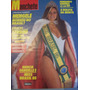 Revista Manchete - Márcia Gabrielle Miss Brasil 1985