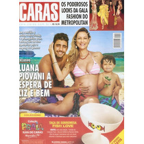 Revista Caras Luana Piovani Espera Gêmeos 05 / 2015.