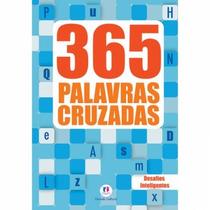 Livro 365 Palavras Cruzadas - Desafios Inteligentes