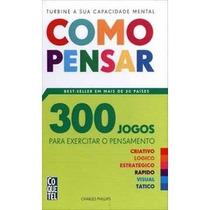 Livro 300 Jogos - Como Pensar - Coquetel - Palavras Cruzadas