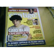 Revista Contigo N°1233 Mai 99 Caio Blat Luciano Szafir