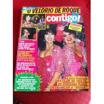 Revista Contigo Menudo Xuxa Pelé Luiza Brunet Sonia B Novela
