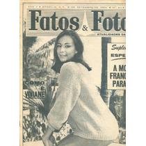 Fatos E Fotos - 1962 - Gloria Menezes / Brocoió / Vedetes