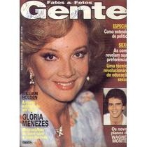 Fatos E Fotos 1981.gloria Menezes .wagner.bruna.jorge Amado