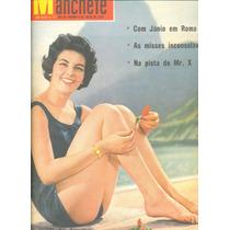 Manchete - 1959 - Miss Brasil / Vedetes / Eloina / Brigitte