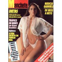 Manchete 1986.miss Brasil.márcia Gabriele.oscar.falcão.moda