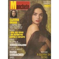 Manchete Nº 2058 -set-1991 - Claudia Ohana