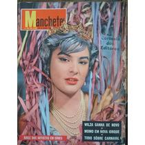 Manchete No.356.14 De Fevereiro De 1959. Wilsa Carla Na Capa