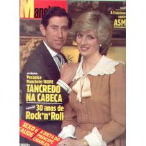 Manchete 1984.princesa Diana.tancredo.rock.claudia Raia.moda