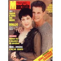 Manchete 1994.claudia Raia.celulari.papa.ronaldo.moda.itamar