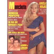 Manchete 1991.angelica.leandro E Leonardo.carlos Luz..moda