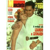 Manchete 1995.leandro E Leonardo.romario.xuxa.zizi Possi.