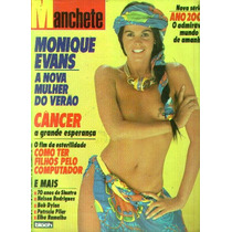 Manchete 1985.monique Evans.teixeirinha.sinatra.elba Ramalho