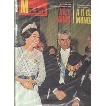 Manchete 1965.farah Diba,segunda Guerra.dalí.manuel Bandeira