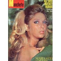 Manchete 1969.maria Stella.seleção.pelé.dener.curvelo.lucio