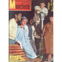 Manchete 1962.garrincha.jango.dana De Teffé.brasilia.liz Tay