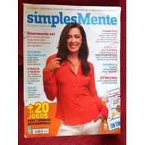 Revista Simplesmente Claudia Raia Depressão Criativo Memoria