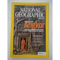 National Geographic Brasil #112 Ano 2009 Angkor Camboja