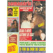 Semanário - 1989 - Juno Da Xuxa / Elba / Mara Maravilha