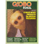 Revista Globo Rural / Ano I - Nº.4 - Janeiro 1986 - Ed Globo