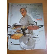 Propaganda Antiga - Panela De Pressão Rochedo/koleston Tinta
