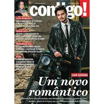 Revista Contigo 2111 = Luan Santana Marco 2016 Nova Lacrada!