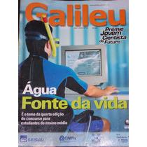 Revista Galileu Nº 141- Abril 2003- Água Fonte Da Vida