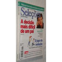 Revista Seleções Nov 2001 Decisão Mais Dificil De Um Pai