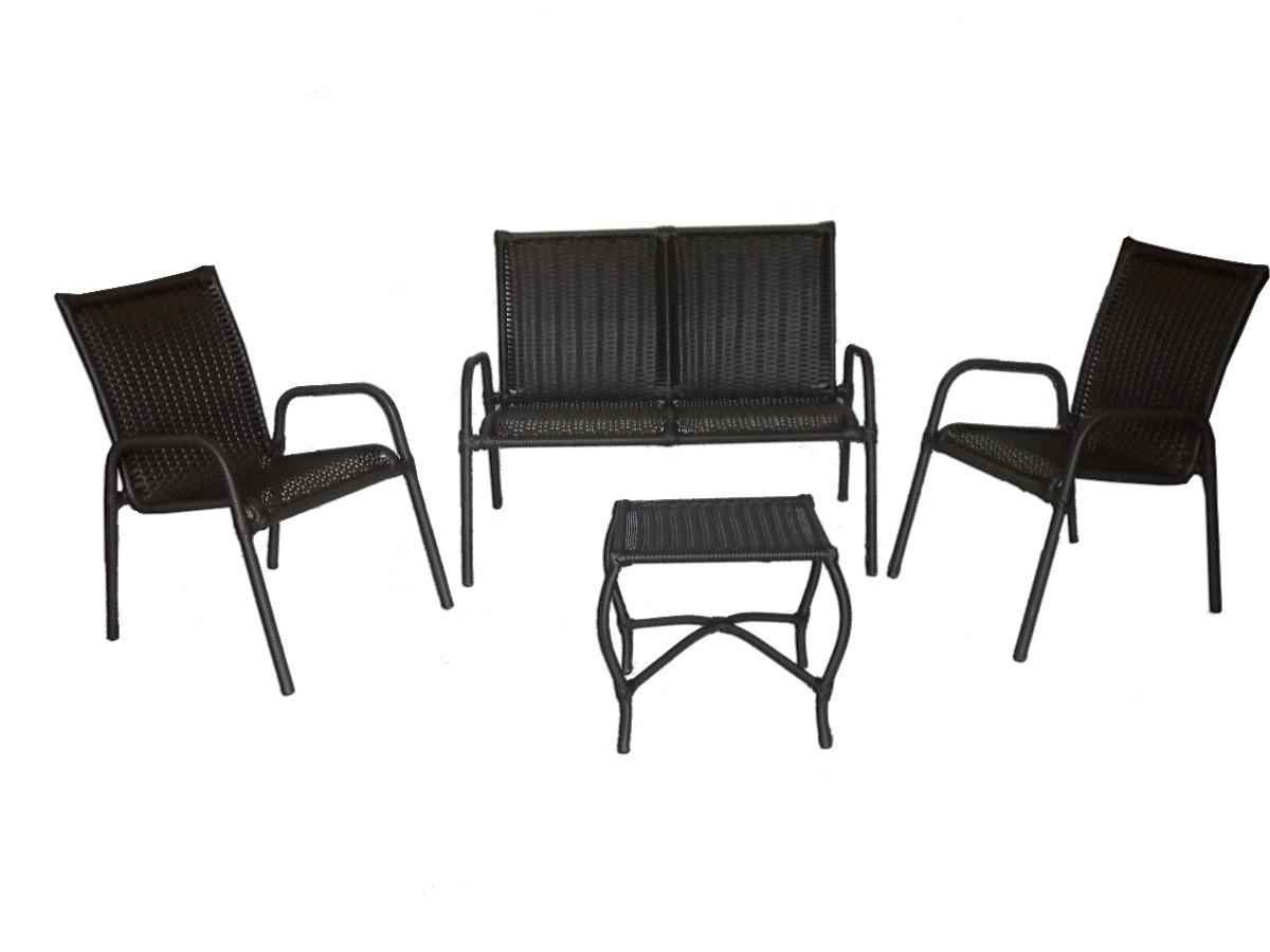 #2C2A28 Conjunto De Cadeiras E Namoradeira Para Varanda R$ 900 00 no  1200x900 px cadeira de balanço para varanda @ bernauer.info Móveis Antigos Novos E Usados Online