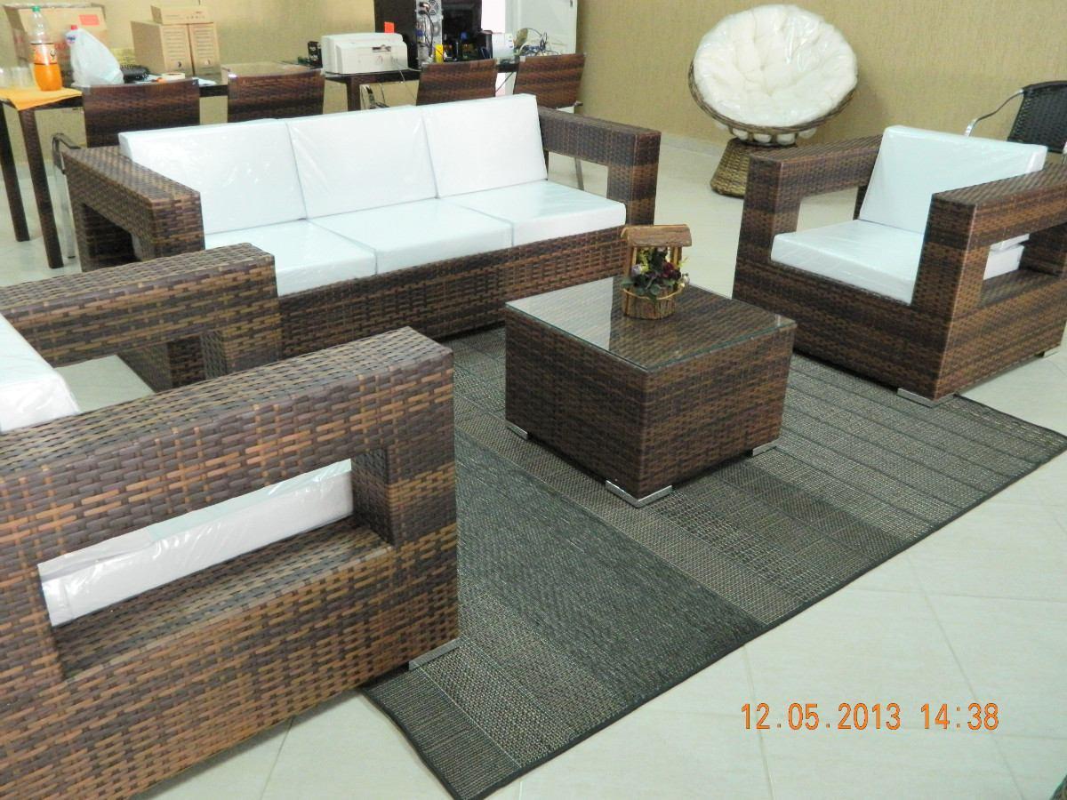 conjunto de sofa de aluminio e fibra sintetica 13780 MLB4492823689  #837248 1200x900