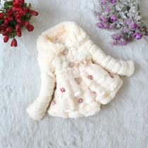 Casaco De Inverno Bebês E Nenên De Lã 1 A 2 Aninhos.