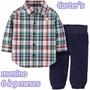 Roupa De Bebê Inverno Importado-camis/calça Carters Original